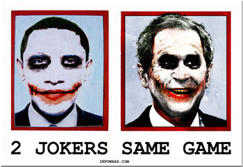 [IMG] Obama and Bush as the Joker.