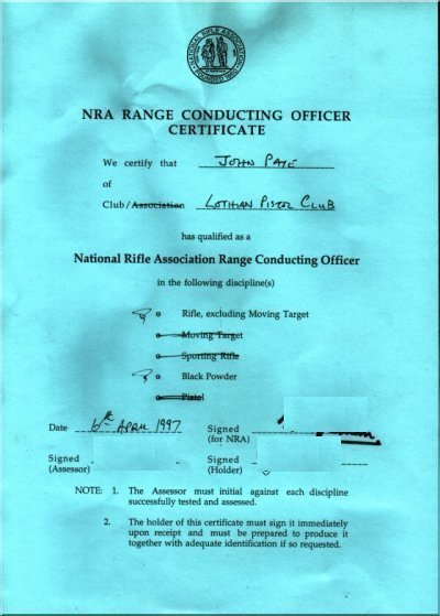 [IMG] NRA Range Conducting Officer certificate.